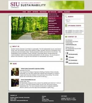 SIUC Sustainability