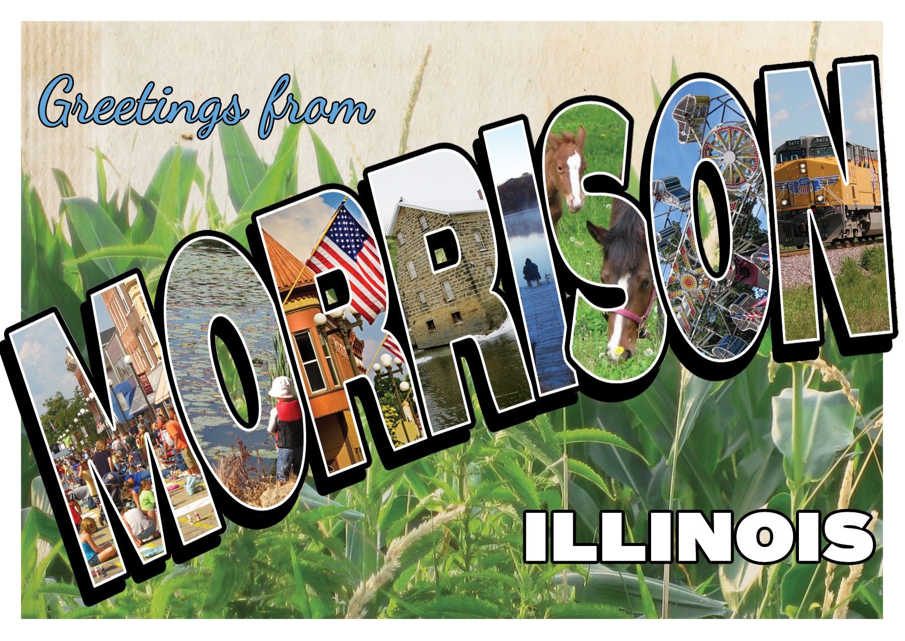 Morrison, Illinois, Postcard